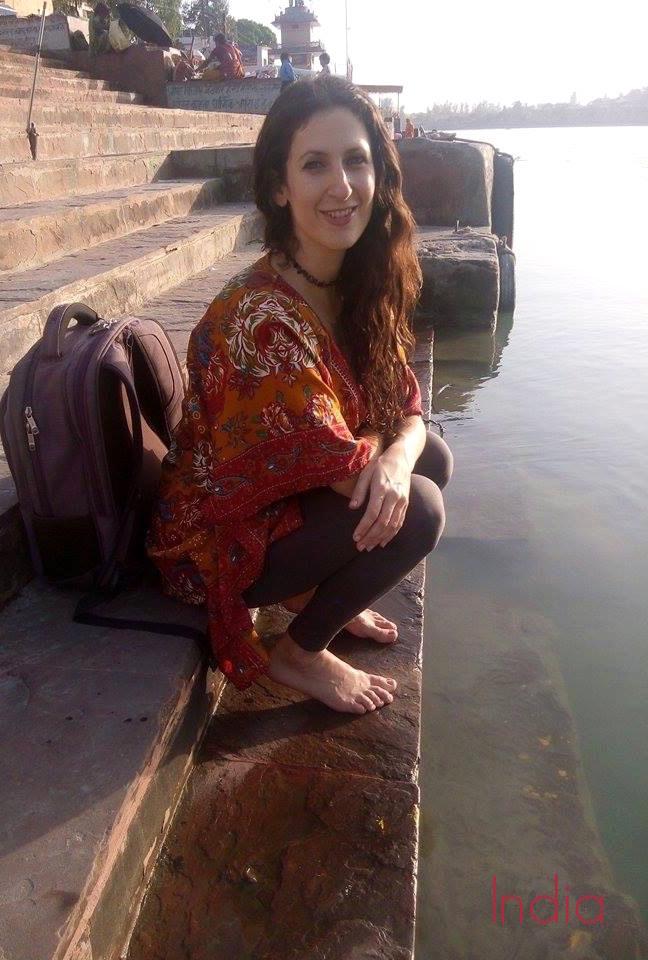 Me in India in 2014